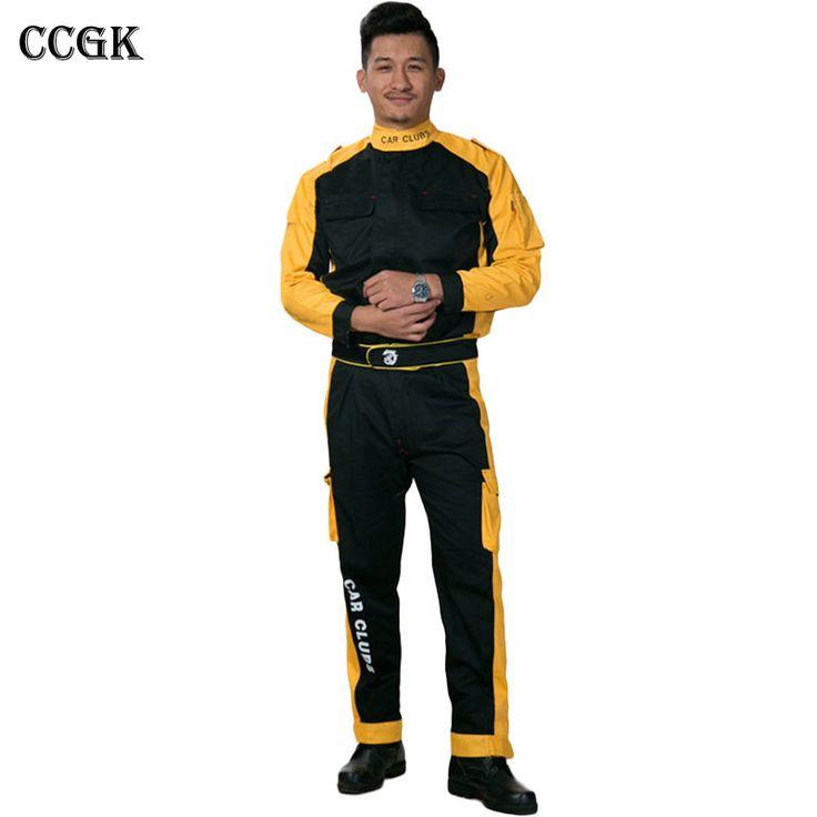 Kaufen CCGK Arbeitskleidung Sets Männer Frauen Arbeitskleidung Anzüge Jacken +…
