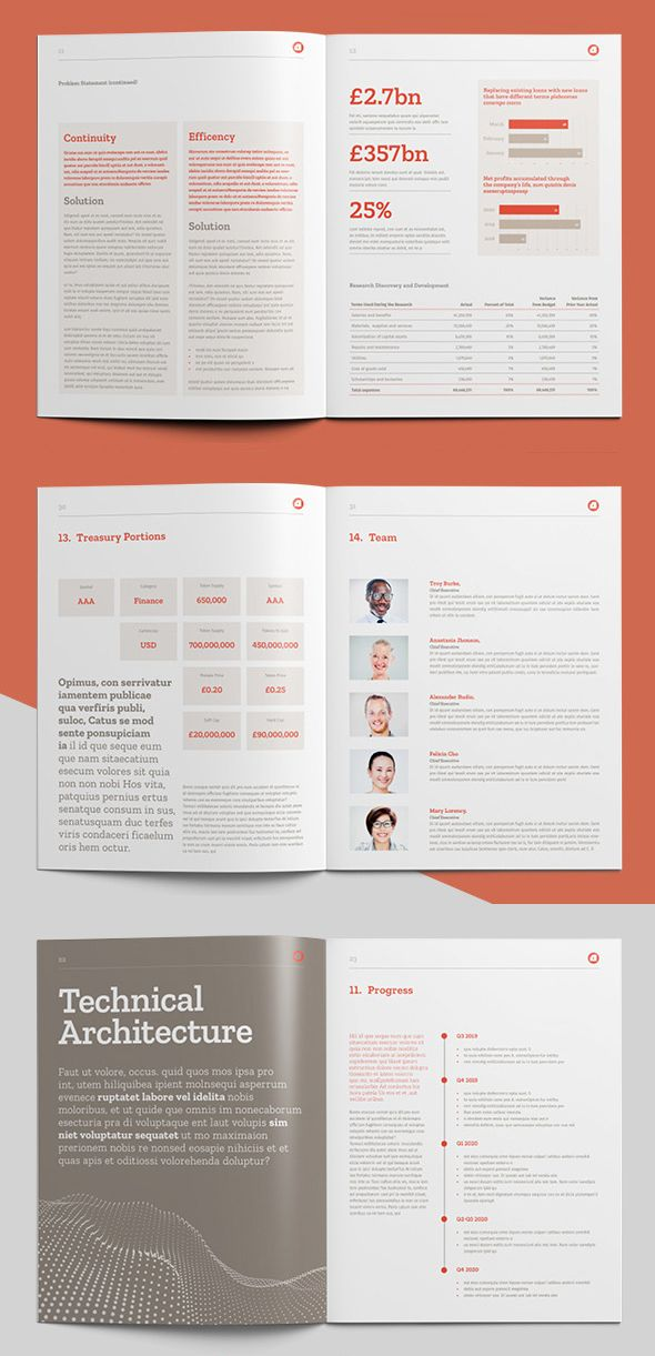 White Paper Brochure Template Indd Eps And Ms Word Word Template Design Brochure Design Template Paper Template Design