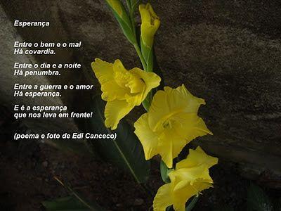 poema Esperança