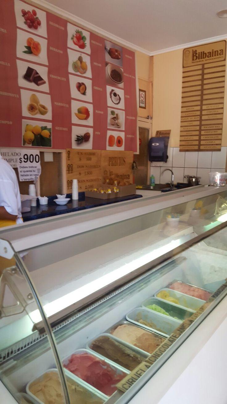 helados artesanales La Bilbaina