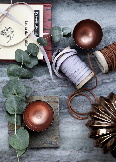 copper and gray / åpent hus