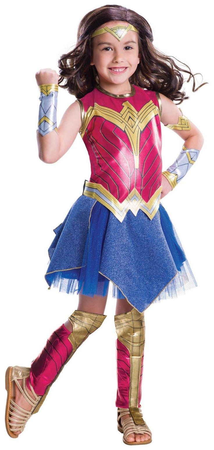Batman v Superman: Dawn of Justice - Girls Deluxe Wonder Woman Costume from Buycostumes.com