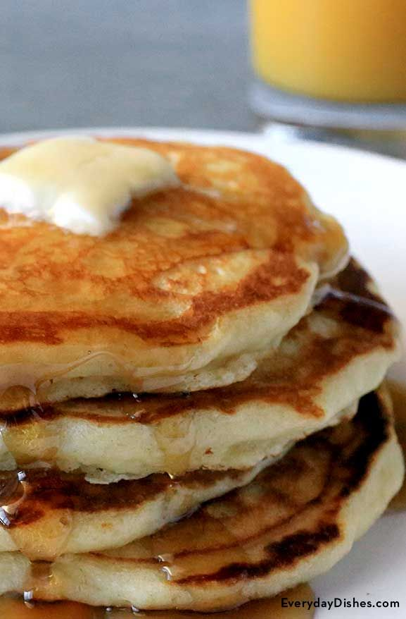 Our homemade pancakes recipe will set the bar on all future pancake endeavors. Store-bought mix will be a thing of the past after you discover how easy they are to make and how crazy delicious they taste!