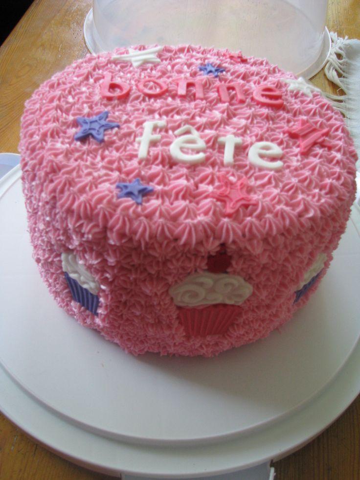 Gâteau fête Valérie