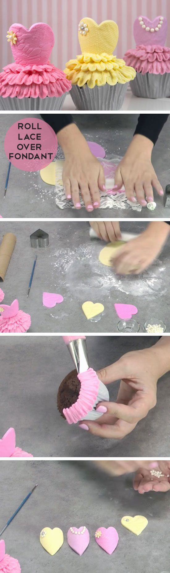Ballerina Cupcakes | DIY Baby Shower Ideas for a Girl | Easy Birthday Party Ideas for Girls DIY