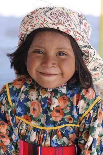 Niña indígena tarahumara, Chihuahua, México