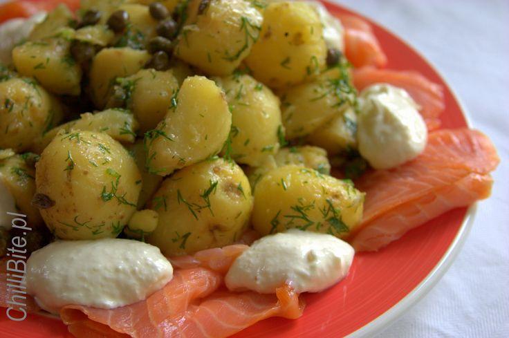 ChilliBite.pl - motywuje do gotowania!: Idealna sałatka ziemniaczana Jamiego