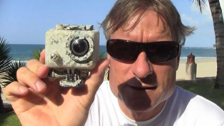 Lost GoPro HD Hero Cam found after 2.5 months at Sea  Visit www.floatpro.co/