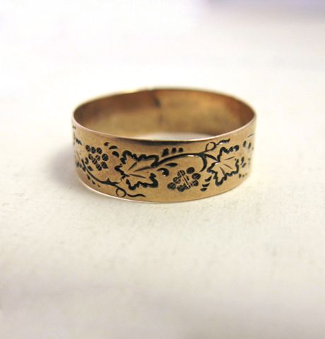 "Rose Gold ""Grapevine"" Wedding BandBand Simple, Grapevine Rings, Ericaweiner Com, Erica Weiner, Grapevine Band, Gold Grapevine, Wedding Bands, Adornment, Rose Gold"