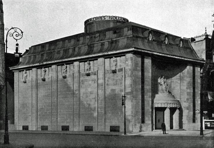 Berlin, Nollendorfplatz, Kino um 1900
