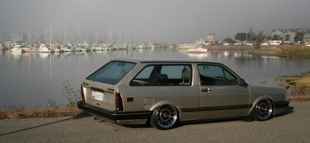 Bagged wagon (VW Fox Air Suspension)
