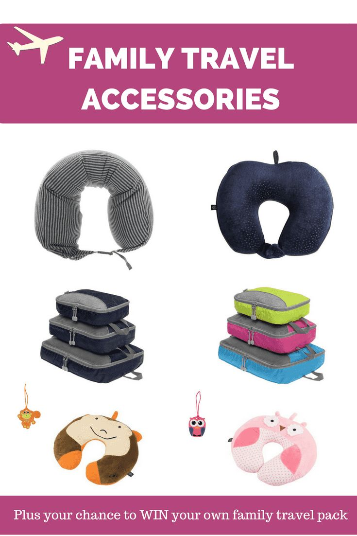 Must have Family Travel Accessories - Thrifty Family Travels