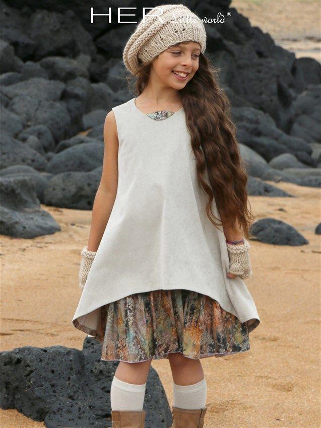 HER Little world, Patron de couture pour vêtement enfant, robe Raffinée