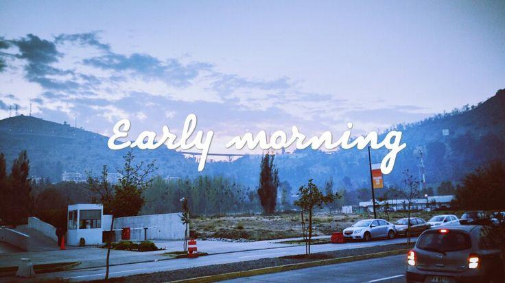 Walk at morning
