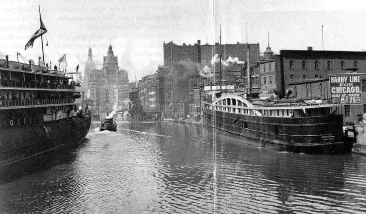 Milwaukee in the 1800s. #Wisconsin #history