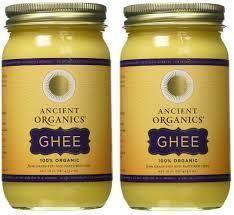 Ghee, From Grass-Fed, Organic, Cultured Butter