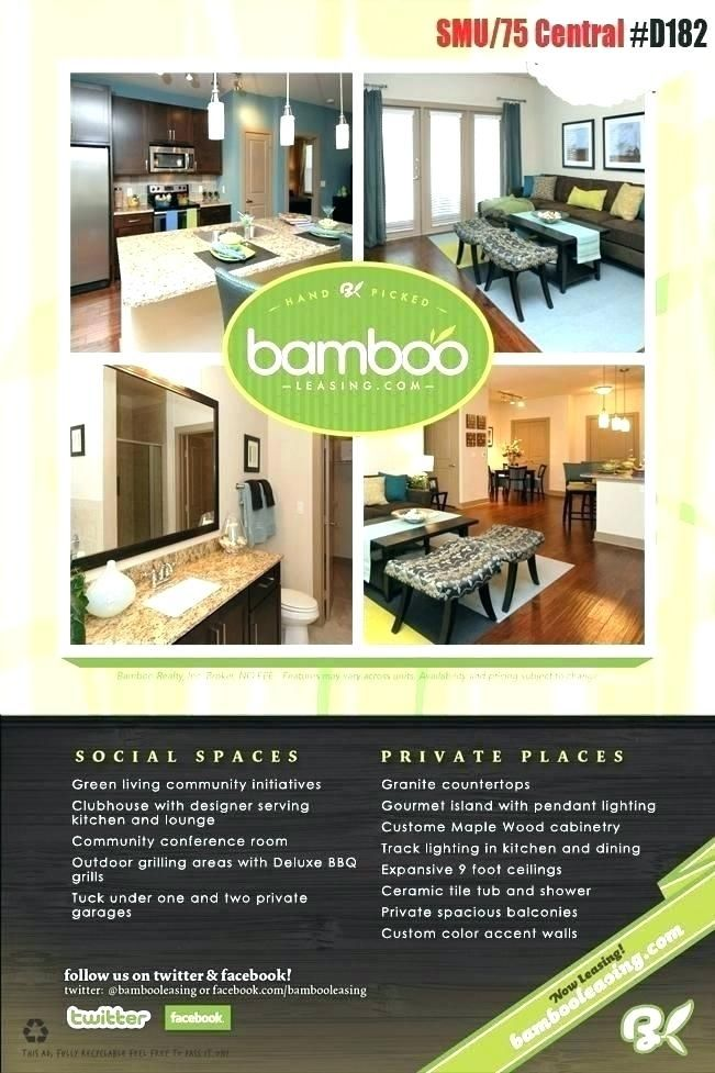 Free Apartment Flyer Templates Rental Apartments Cool Apartments Renting A House