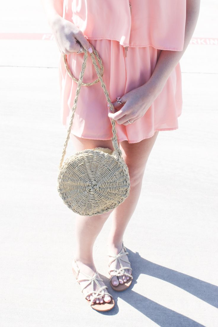 My Favorite Straw Bag!