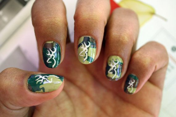 Hey, I found this really awesome Etsy listing at http://www.etsy.com/listing/157092079/browning-camo-nail-art-decals