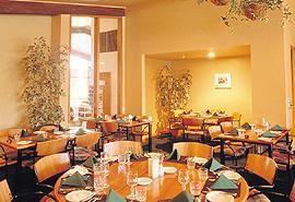 Dining at Canavans Restaurant