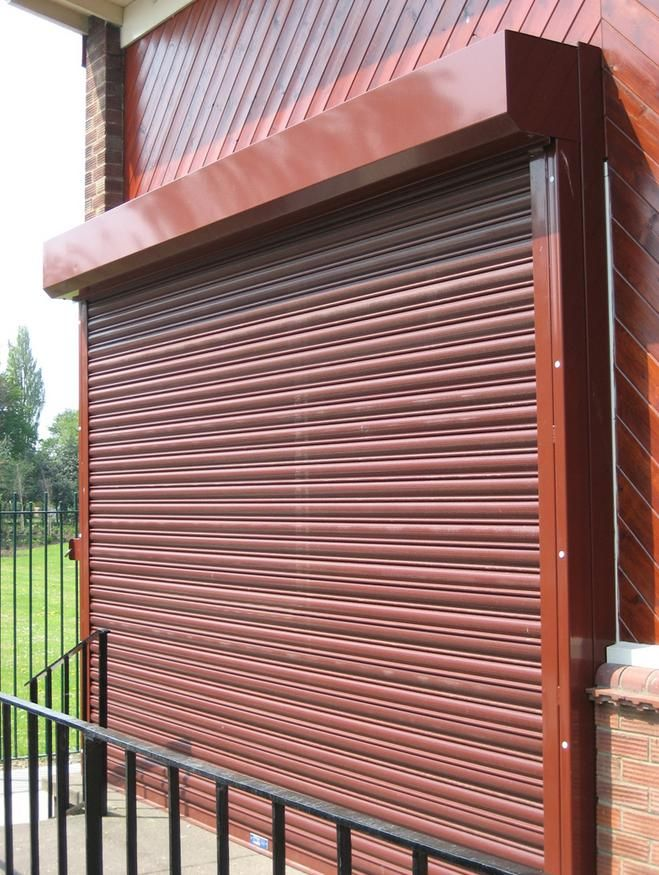 Shutter at a Sports Centre.