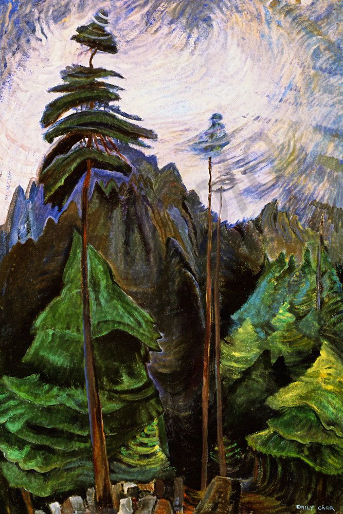 Emily Carr Mountain Forest 1936