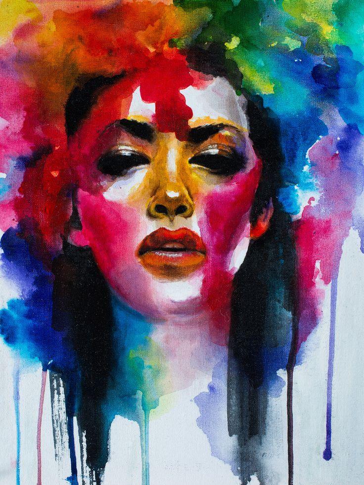 #рисунок #картина  #искусство  #art #painting #drawing #illustration #color Painting by Yulia Malahova https://www.instagram.com/amita_art