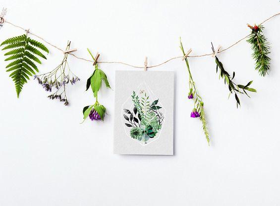 GRAFIKA Terrarium I - Printlove - grafiki do wnętrz, ilustracje dla dzieci, plakaty. -