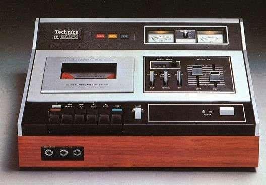 Technics Tape Deck.