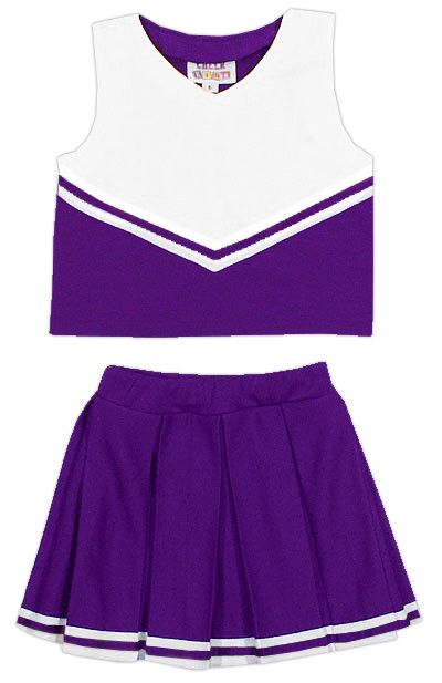 Custom cheerleading outfit