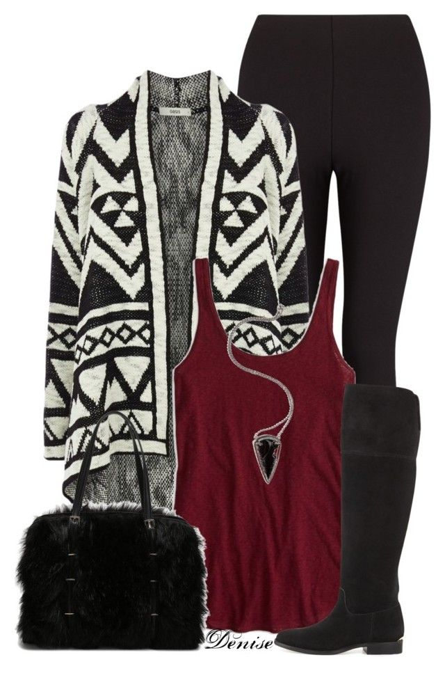 """Aztec Cardigan"" by deniselanders ❤ liked on Polyvore"