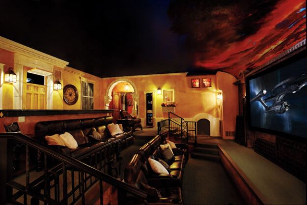 European Themed Home Theater - Bundle of Ideas