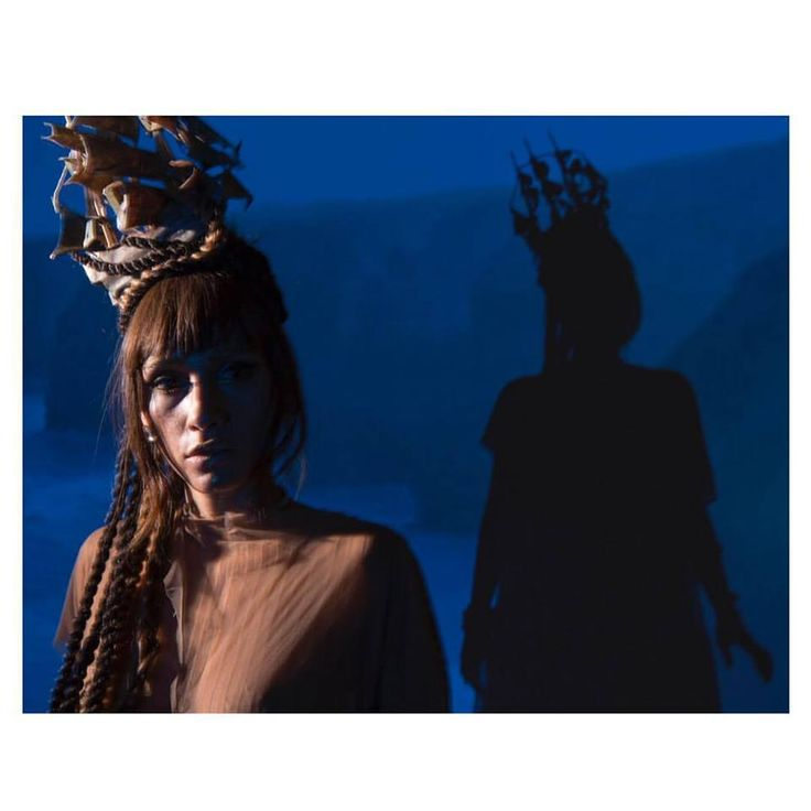 """Boat wig made by me to Lia's music video """"as ondas"""" photo by Angelo Pastorello"""