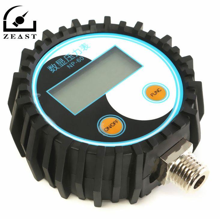 0-10bar (0 ~ 145psi) G1/4 Batterij-Aangedreven digitale manometer druk tester Nieuwe Collectie Hoge kwaliteit