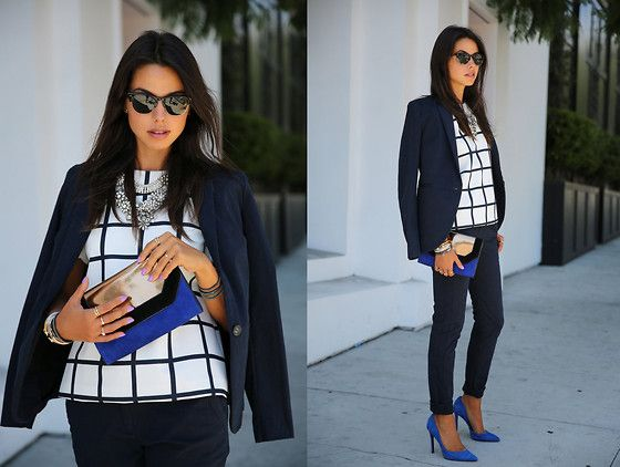 Ready To Fish Suit, Bcbg Clutch, Nine West Heels, Cameo Top