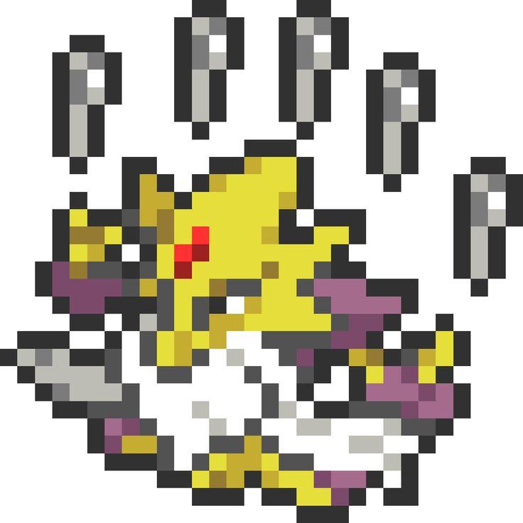 포켓몬 전국 도감 픽셀·도트·비즈 도안 Pokemon Pokedex Pixel·Dot·Beads Grid Sprites ポケモン 全国図鑑 ピクセル·ドット·ビーズ 図案  [픽셀아트] 포켓몬스터 - No.65 메가후딘 [Pixel Art] Pokemon - No.65 Mega Alakazam [ピクセルアート] ポケットモンスター - No.65 メガフーディン  인박스 버전 In-Box Version イン ボックス バージョン  모바일 앱(어플)을 이용한 픽셀아트 Pixel Art Using a Mobile APP モバイルアプリケーションを利用したピクセルアート  펄러비즈, 컬러비즈, 비즈아트 Perler Beads, Color Beads, Beads Art パーラービーズ, カラービーズ, ビーズアート