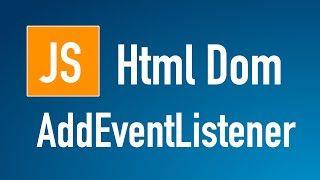 Learn JS HTML Dom In Arabic #22 - Elements - Add Event Listener http://ift.tt/2De1X4j كورس JavaScript HTML DOM  اسامة الزيرو