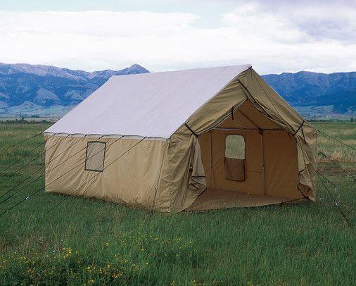 "Montana Blend Wall Tent 12'x17', 5"" stove jack, Kahaki, 1,131.00 MSRP"