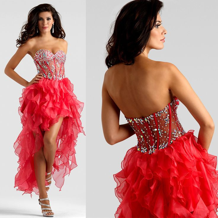 ==> [Free Shipping] Buy Best Cocktail Dresses High quality Sweetheart elegant red Short 2017 with Beads Crystals Mini Custom-made Sexy Prom Dress Online with LOWEST Price | 32758251382