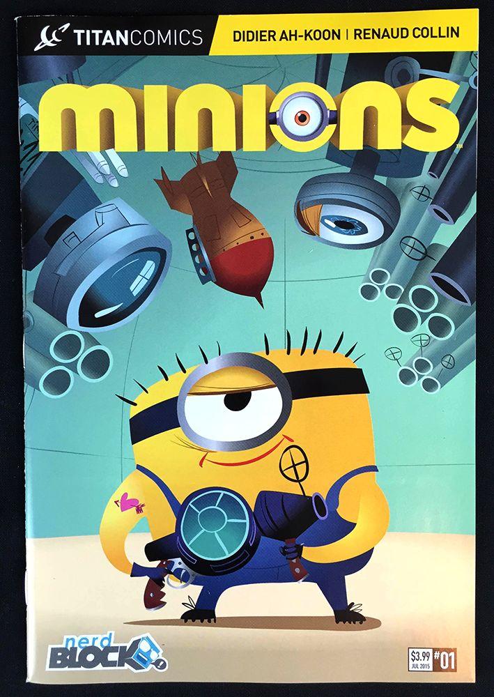 Minions Comic From June's Nerd Block Jr. For Girls