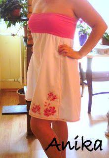 Saját tervezésű ruhám.