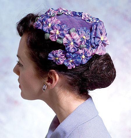V8052 | Misses' Vintage Hats | Vintage Vogue | Vogue Patterns