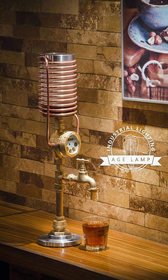 Steampunk Whisky/Liquor Dispenser with Working Meter