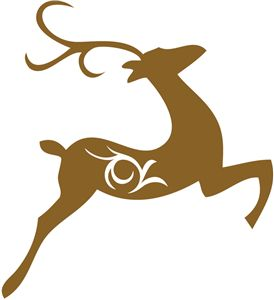 Silhouette Online Store - View Design #35418: elegant reindeer