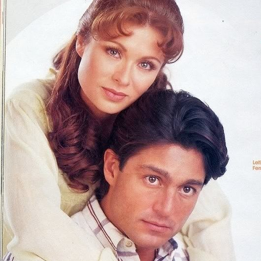 regram @telenovelasy Telenovela #esmeralda  Leticia CalderónFernando Colunga @leticia_calderon_ @fernandoolivaresoficial