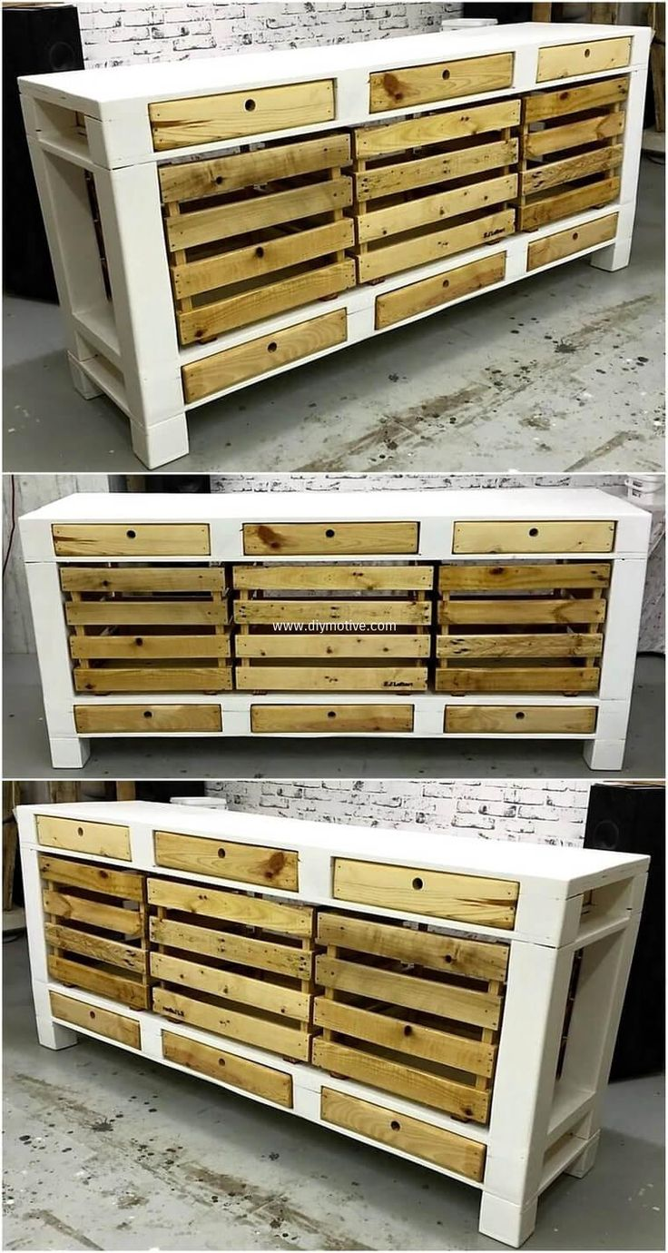 how to make a pallet tv stand