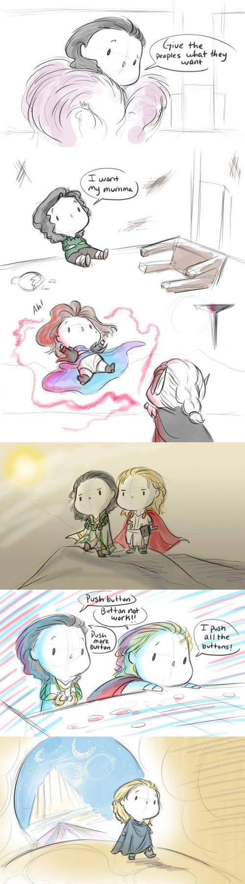thor 2 - I don't know who the hell does these, but they're awesomeness in my book