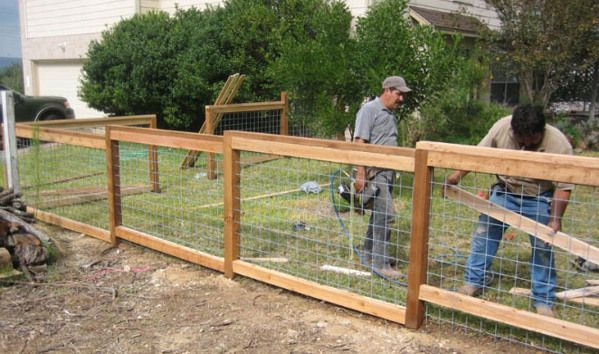 diy cattle panel fence