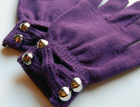(studs and pearls): DIY for WeHeartThis.com: Embellished Gloves: Diy Ideas, Diy Fashion, Diy Embellished, Diy Accessories, Diy Clothes, Embellished Gloves, Craft Ideas, Crafts, Diy Gloves