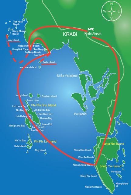 island hopping krabi